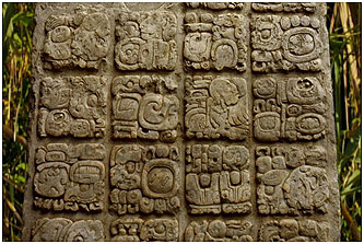 A hieroglyphic tablet from the site of Toniná